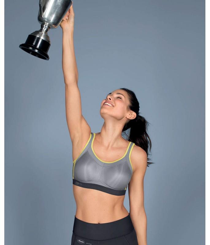 5529 • спортивний бюстгальтер з м'якими формованими чашками, максимальна підтримка-Фото-6