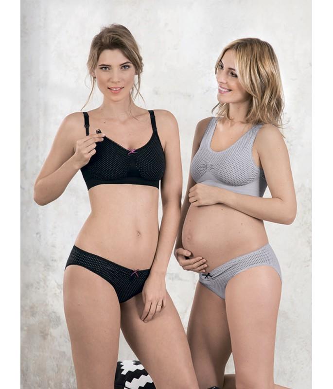 5197 + 1497 • бесшовный комплект для беременных-Фото-2