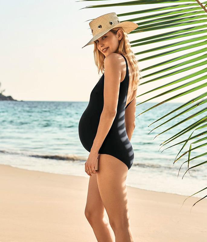 9571 L9 • купальник цельный для беременных