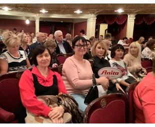 • Встреча клуба Anita care в Одесском оперном театре
