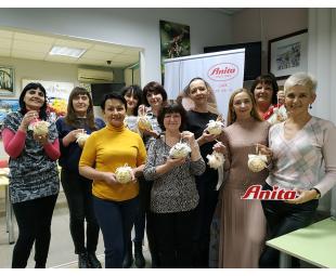 • Зустріч клубу Anita care у Дніпрі
